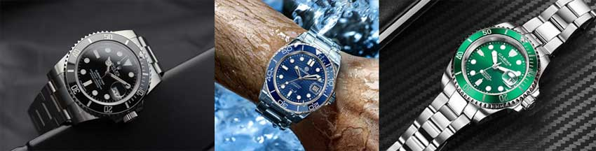 alternativas baratas al rolex submariner
