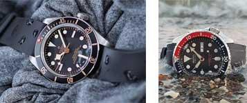 relojes para el verano goma